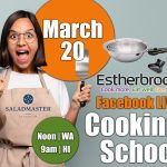 March 20 Cooking School