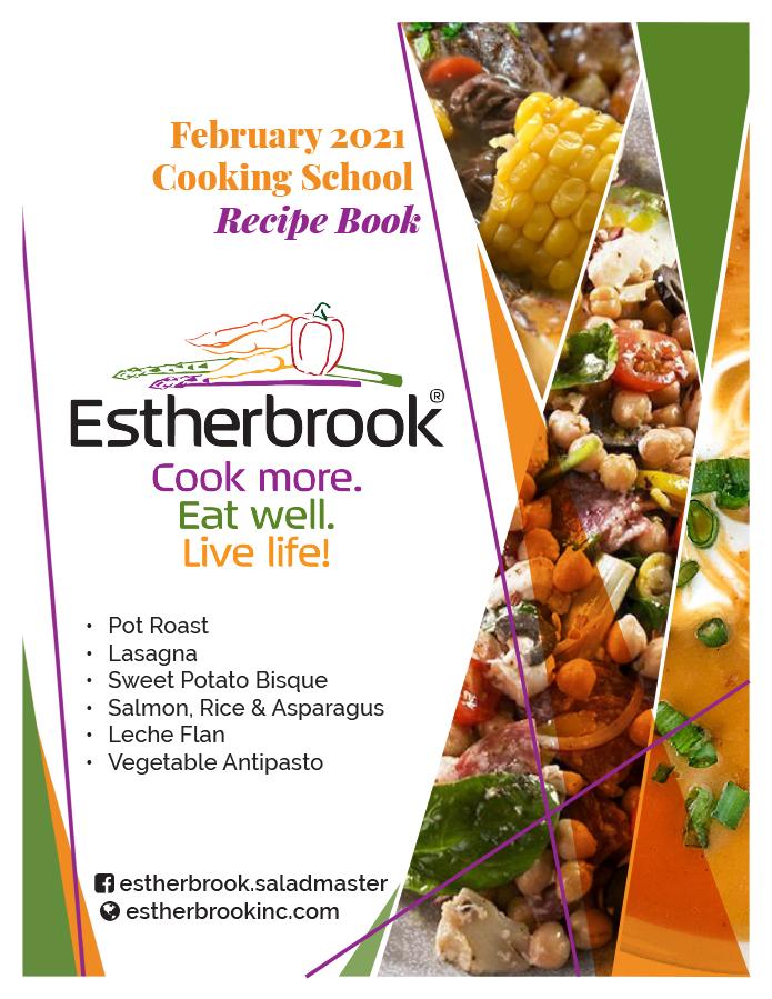 February Recipe Book 2021