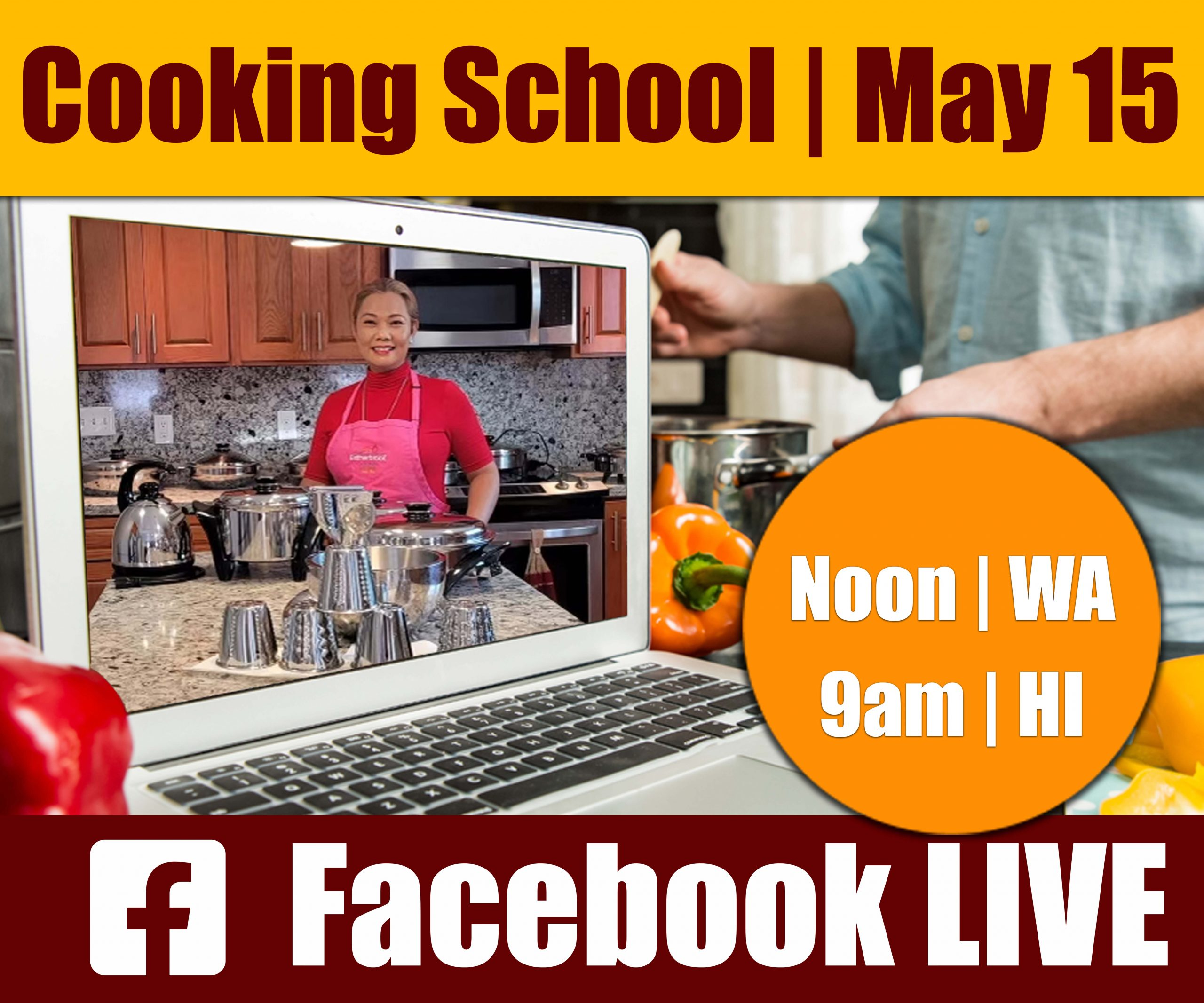 May 15 Cooking School