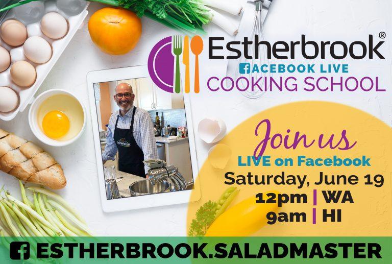 June 19 Estherbrook Distributor Cooking School